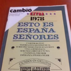 Coleccionismo de Revista Cambio 16: REVISTA CAMBIO 16 DEL 1 DE ENERO DE 1978. Lote 193397847