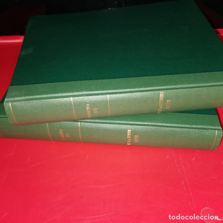 DOS VOLUJMENES DE CAMBIO 16 ENERO-MARZO Y OCTUBRE-DICIEMBRE 1976 (Coleccionismo - Revistas y Periódicos Modernos (a partir de 1.940) - Revista Cambio 16)
