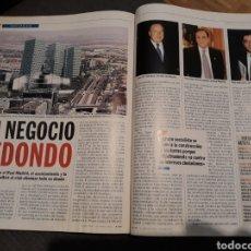 Coleccionismo de Revista Cambio 16: UN NEGOCIO REDONDO . ACUERDO ENTRE EL REAL MADRID ,AYUNTAMIENTO Y LA COMUNIDAD . AÑO 2001 . 3 PAG. Lote 194233155