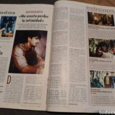 Coleccionismo de Revista Cambio 16: ENTREVISTA A JUAN DIEGO BOTTO . AÑO 2001 .DOS PAGINAS. Lote 194233576