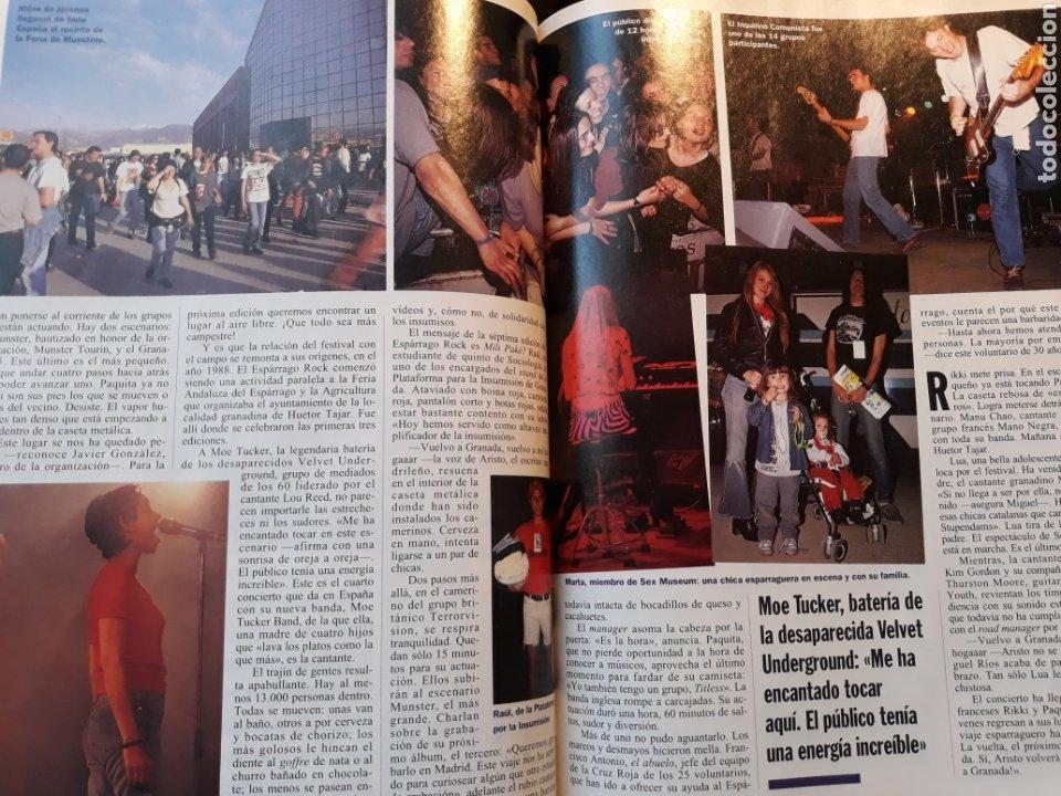 Coleccionismo de Revista Cambio 16: ESPARRAGO ROCK 7 . VUELVO A GRANADA . AÑO 1995 . 4 PAGINAS - Foto 2 - 194939865