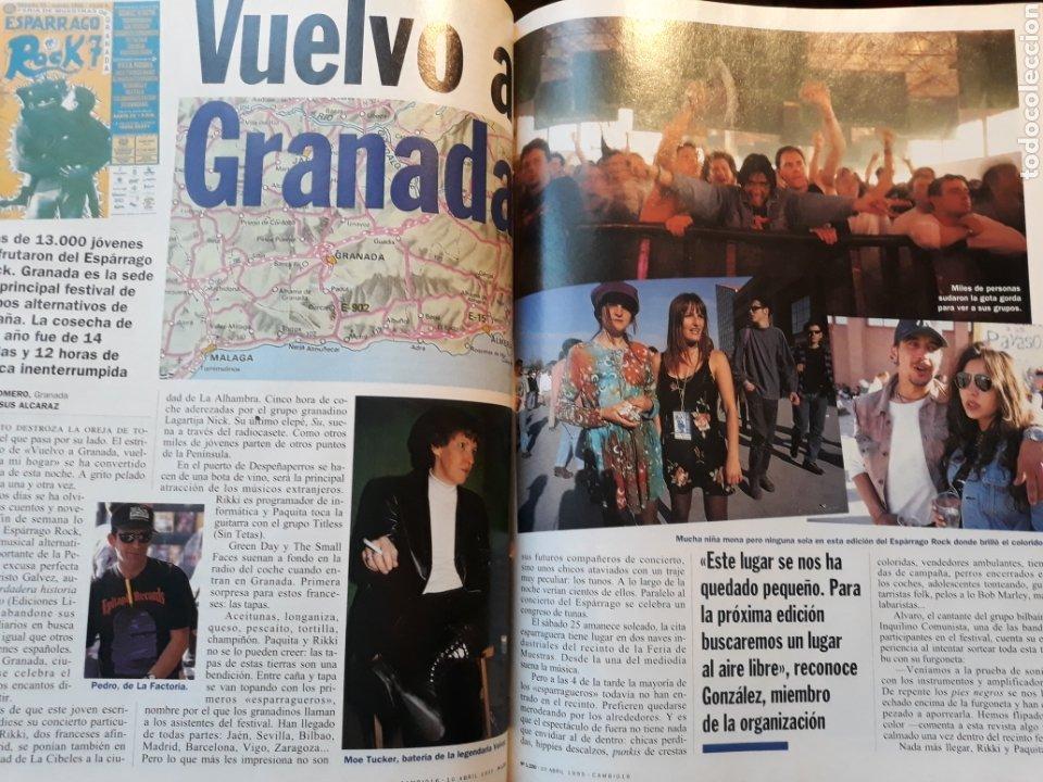 ESPARRAGO ROCK 7 . VUELVO A GRANADA . AÑO 1995 . 4 PAGINAS (Coleccionismo - Revistas y Periódicos Modernos (a partir de 1.940) - Revista Cambio 16)