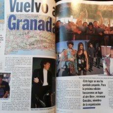 Coleccionismo de Revista Cambio 16: ESPARRAGO ROCK 7 . VUELVO A GRANADA . AÑO 1995 . 4 PAGINAS. Lote 194939865