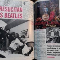 Coleccionismo de Revista Cambio 16: RESUCITAN LOS BEATLES . AÑO 1995 . 3 PAGINAS.. Lote 194940010