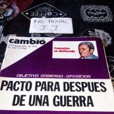 Coleccionismo de Revista Cambio 16: REVISTA CAMBIO 16 NÚMERO 249. Lote 194941855
