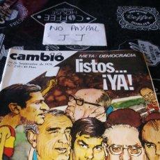 Coleccionismo de Revista Cambio 16: REVISTA CAMBIO 16 NÚMERO 250. Lote 194941872