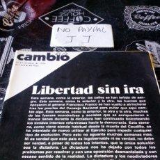 Coleccionismo de Revista Cambio 16: REVISTA CAMBIO 16 NÚMERO 253. Lote 194941901