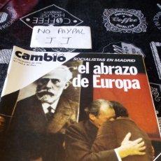 Coleccionismo de Revista Cambio 16: REVISTA CAMBIO 16 NÚMERO 262. Lote 194941933