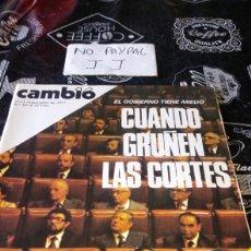 Coleccionismo de Revista Cambio 16: REVISTA CAMBIO 16 NÚMERO 302. Lote 194941968