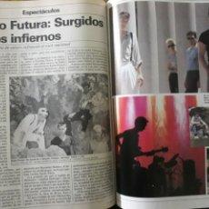 Coleccionismo de Revista Cambio 16: REPORTAJE DEL GRUPO RADIO FUTURA AÑO 1984 . 4 PAGINAS. Lote 195045581