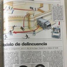 Coleccionismo de Revista Cambio 16: REPORTAJE DE LA CARCEL MODELO DE BARCELONA AÑO 1984 . 4 PÁGINAS.. Lote 195046232