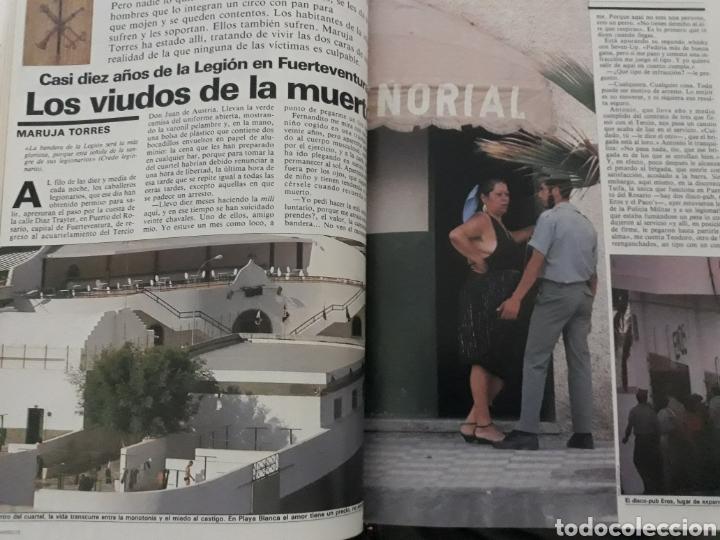 CASI DIEZ AÑOS DE LA LEGION EN FUERTEVENTURA. REPORTAJE DE 6 PAGINAS DEL AÑO 1985 (Coleccionismo - Revistas y Periódicos Modernos (a partir de 1.940) - Revista Cambio 16)