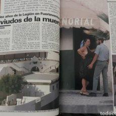 Coleccionismo de Revista Cambio 16: CASI DIEZ AÑOS DE LA LEGION EN FUERTEVENTURA. REPORTAJE DE 6 PAGINAS DEL AÑO 1985. Lote 195238538