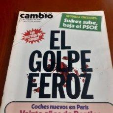 Coleccionismo de Revista Cambio 16: REVISTA CAMBIO 16 DEL 11 DE OCTUBRE DE 1982. Lote 195311678