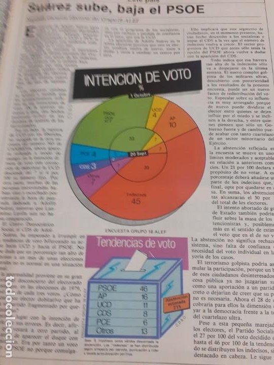 Coleccionismo de Revista Cambio 16: Revista Cambio 16 del 11 de Octubre de 1982 - Foto 2 - 195311678