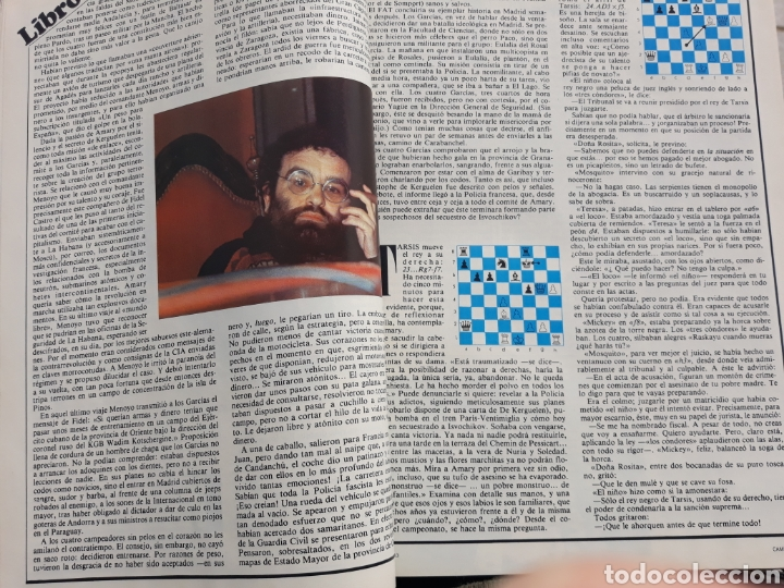 Coleccionismo de Revista Cambio 16: EL RAYO HERIDO DE ARRABAL . REPORTAJE DE 4 PAGINAS . DE FERNANDO ARRABAL . AÑO 1983 - Foto 2 - 196344520