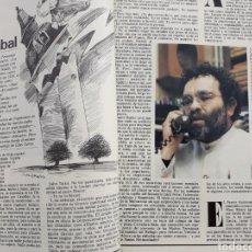 Coleccionismo de Revista Cambio 16: EL RAYO HERIDO DE ARRABAL . REPORTAJE DE 4 PAGINAS . DE FERNANDO ARRABAL . AÑO 1983. Lote 196344520