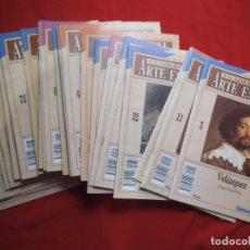 Coleccionismo de Revista Cambio 16: LOTE DE 25 CUADERNOS DE ARTE ESPAÑOL.. Lote 197398427