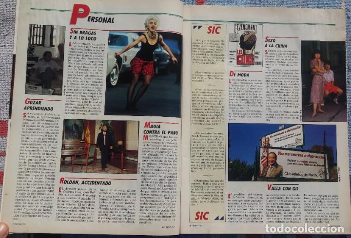 Coleccionismo de Revista Cambio 16: Revista Cambio 16, Nº 823, 7 de septiembre 1987 /// VANGUARDIA BLANCO NEGRO DESTINO ÉPOCA GACETA - Foto 4 - 197911107