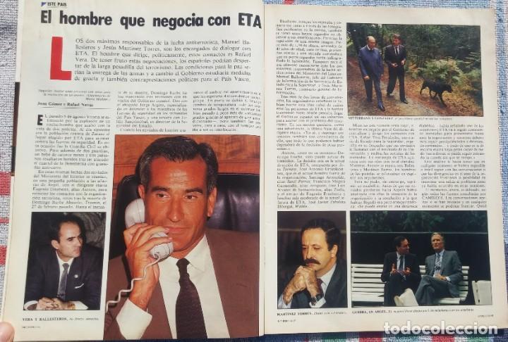 Coleccionismo de Revista Cambio 16: Revista Cambio 16, Nº 823, 7 de septiembre 1987 /// VANGUARDIA BLANCO NEGRO DESTINO ÉPOCA GACETA - Foto 5 - 197911107