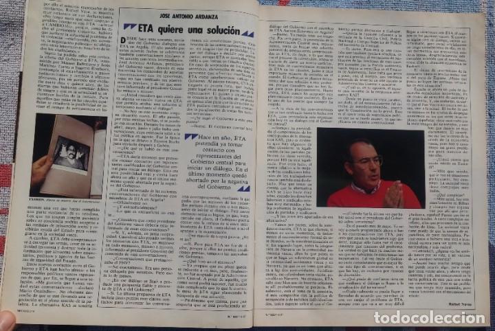 Coleccionismo de Revista Cambio 16: Revista Cambio 16, Nº 823, 7 de septiembre 1987 /// VANGUARDIA BLANCO NEGRO DESTINO ÉPOCA GACETA - Foto 6 - 197911107