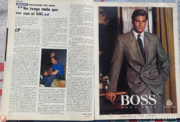Coleccionismo de Revista Cambio 16: Revista Cambio 16, Nº 823, 7 de septiembre 1987 /// VANGUARDIA BLANCO NEGRO DESTINO ÉPOCA GACETA - Foto 7 - 197911107