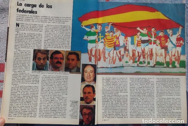 Coleccionismo de Revista Cambio 16: Revista Cambio 16, Nº 823, 7 de septiembre 1987 /// VANGUARDIA BLANCO NEGRO DESTINO ÉPOCA GACETA - Foto 8 - 197911107