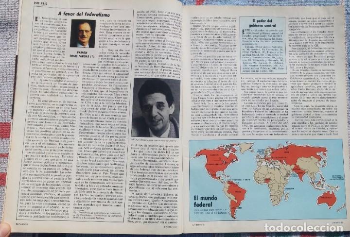 Coleccionismo de Revista Cambio 16: Revista Cambio 16, Nº 823, 7 de septiembre 1987 /// VANGUARDIA BLANCO NEGRO DESTINO ÉPOCA GACETA - Foto 9 - 197911107