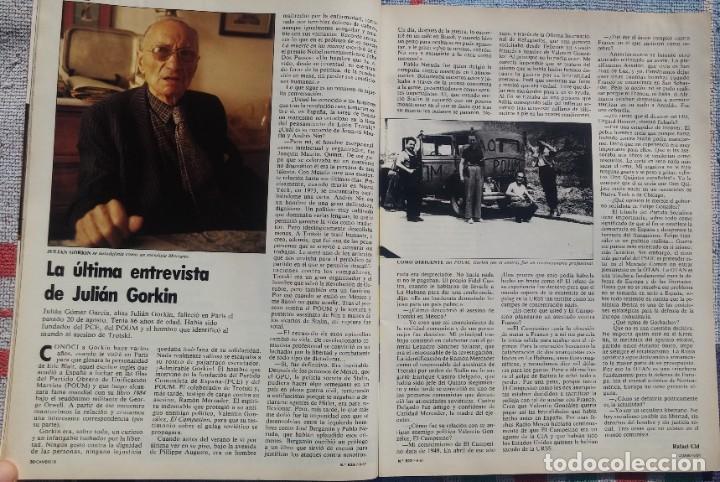 Coleccionismo de Revista Cambio 16: Revista Cambio 16, Nº 823, 7 de septiembre 1987 /// VANGUARDIA BLANCO NEGRO DESTINO ÉPOCA GACETA - Foto 10 - 197911107