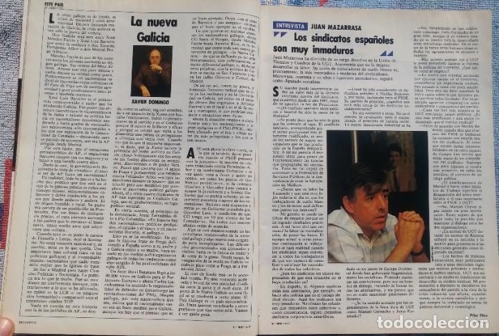 Coleccionismo de Revista Cambio 16: Revista Cambio 16, Nº 823, 7 de septiembre 1987 /// VANGUARDIA BLANCO NEGRO DESTINO ÉPOCA GACETA - Foto 11 - 197911107