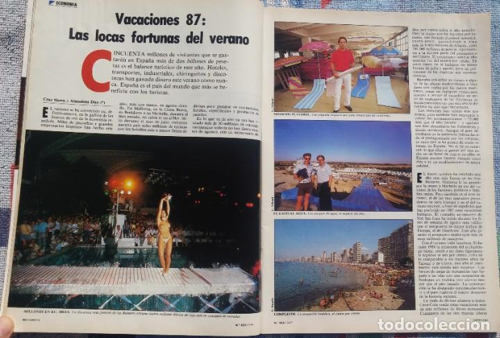 Coleccionismo de Revista Cambio 16: Revista Cambio 16, Nº 823, 7 de septiembre 1987 /// VANGUARDIA BLANCO NEGRO DESTINO ÉPOCA GACETA - Foto 12 - 197911107