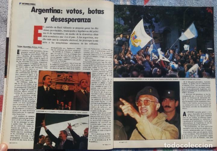Coleccionismo de Revista Cambio 16: Revista Cambio 16, Nº 823, 7 de septiembre 1987 /// VANGUARDIA BLANCO NEGRO DESTINO ÉPOCA GACETA - Foto 14 - 197911107