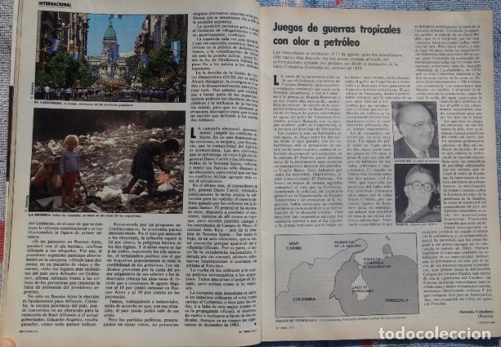 Coleccionismo de Revista Cambio 16: Revista Cambio 16, Nº 823, 7 de septiembre 1987 /// VANGUARDIA BLANCO NEGRO DESTINO ÉPOCA GACETA - Foto 15 - 197911107