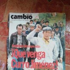Coleccionismo de Revista Cambio 16: ANTIGUA REVISTA CAMBIO 16 - 12 MARZO DE 1978 - Nº 327 - CURRO JIMÉNEZ - ANDALUCÍA DESESPERADA. Lote 198014432