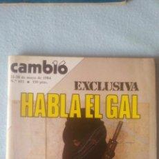 Coleccionismo de Revista Cambio 16: CAMBIO16 -MAYO 1984 - Nº 651 - HABLA EL GAL (VER SUMARIO EN FOTOS). Lote 198921793