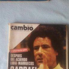 Coleccionismo de Revista Cambio 16: CAMBIO16 - DICIEMBRE 1984 - Nº 682 - GADDAFI FINANCIA A ETA, CONGRESO PSOE (VER SUMARIO EN FOTOS). Lote 198922126