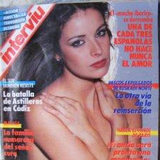 Collectionnisme de Magazine Cambio 16: REVISTA INTERVIU Nº 571 ABRIL DE 1987. Lote 201190993