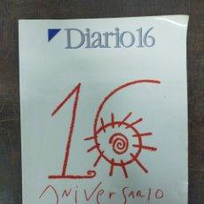 Coleccionismo de Revista Cambio 16: DIARIO 16. 16 ANIVERSARIO. 1976-1992. Lote 204549625