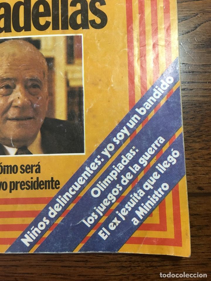 Coleccionismo de Revista Cambio 16: REVISTA CAMBIO 16 EL TESTAMENTO DE TARRADELLAS PRESIDENTE 1980(OLIMPÍADAS) - Foto 4 - 204770746