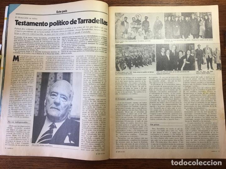 Coleccionismo de Revista Cambio 16: REVISTA CAMBIO 16 EL TESTAMENTO DE TARRADELLAS PRESIDENTE 1980(OLIMPÍADAS) - Foto 8 - 204770746