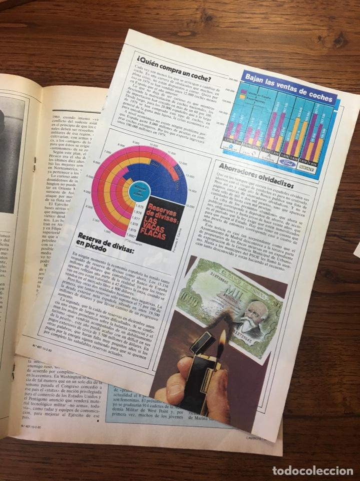 Coleccionismo de Revista Cambio 16: REVISTA CAMBIO 16 EL TESTAMENTO DE TARRADELLAS PRESIDENTE 1980(OLIMPÍADAS) - Foto 9 - 204770746