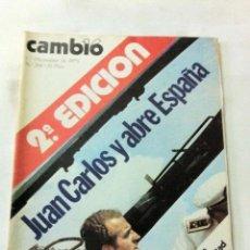 Coleccionismo de Revista Cambio 16: CAMBIO16 - Nº. 208 - AÑO 1975. Lote 205084947