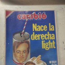Coleccionismo de Revista Cambio 16: REVISTA CAMBIO 16 1987 N° 795. Lote 206364757