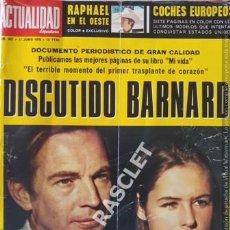 Coleccionismo de Revista Cambio 16: ANTIGÚA REVISTA LA CATUALIDAD ESPAÑOLA Nº 962 - AÑO 1970. Lote 206802122
