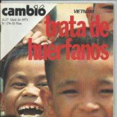 Colecionismo da Revista Cambio 16: CAMBIO 16 / CAMBIO16 - Nº 176 / 21 AL 27 ABRIL 1975 100 PAGS. Lote 208168708