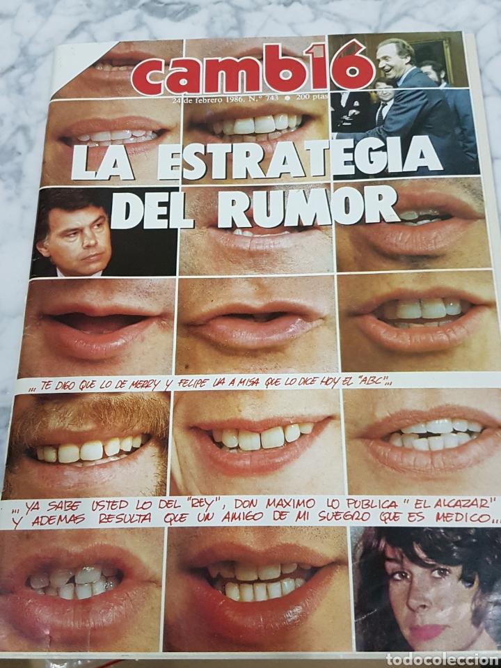 REVISTA CAMBIO 16 (Coleccionismo - Revistas y Periódicos Modernos (a partir de 1.940) - Revista Cambio 16)
