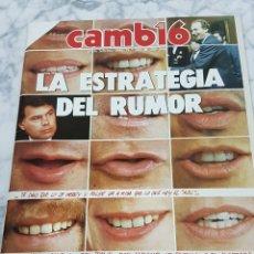 Coleccionismo de Revista Cambio 16: REVISTA CAMBIO 16. Lote 209925856