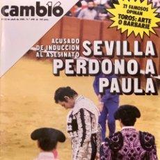 Coleccionismo de Revista Cambio 16: CAMBIO16. Nº 698. 15 ABRIL 1985. Lote 210684277