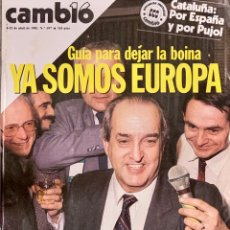 Coleccionismo de Revista Cambio 16: CAMBIO16. Nº 697. 8 ABRIL 1985.. Lote 210772526