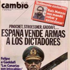 Coleccionismo de Revista Cambio 16: CAMBIO16. Nº 683. 31 DICIEMBRE 1984. Lote 211411174